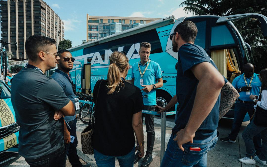 Interview Sven Jonker van Astana Pro Team